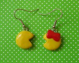 pac-man-earrings
