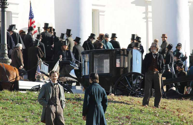 Lincoln - Movie Set Photo