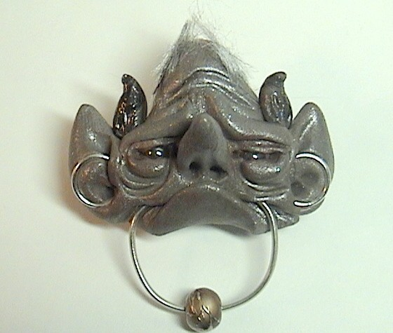 Door Knocker Sculpture inspired by Labyrinth