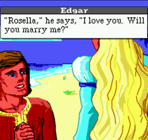 Edgar & Rosella - King's Quest VII