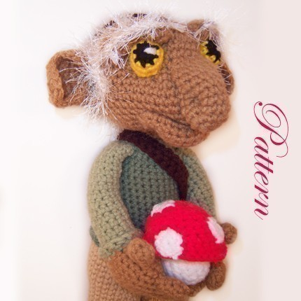 Hoggle Knit Doll Pattern inspired by Labyrinth