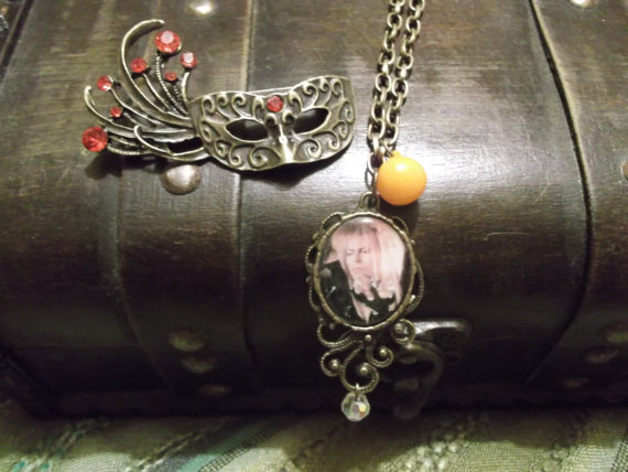 Jareth Masquerade Pendant inspired by Labyrinth