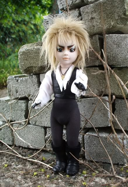 Custom OOAK Jareth Doll inspired by Labyrinth