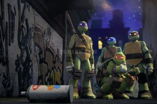 Sneak Peek at Nickelodeon's New Animated TMNT Show