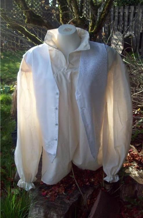 Sarah's Shirt Vest Costume inspired by Labyrinth