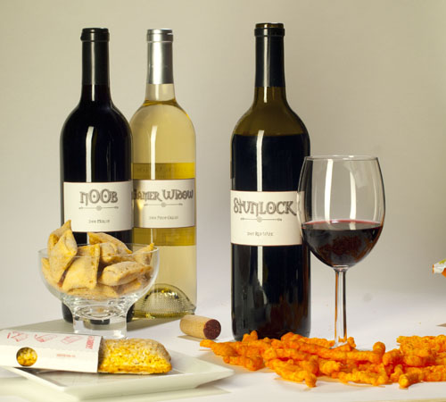 Stunlock, n00b, Gamer Window - Wines for Gamers