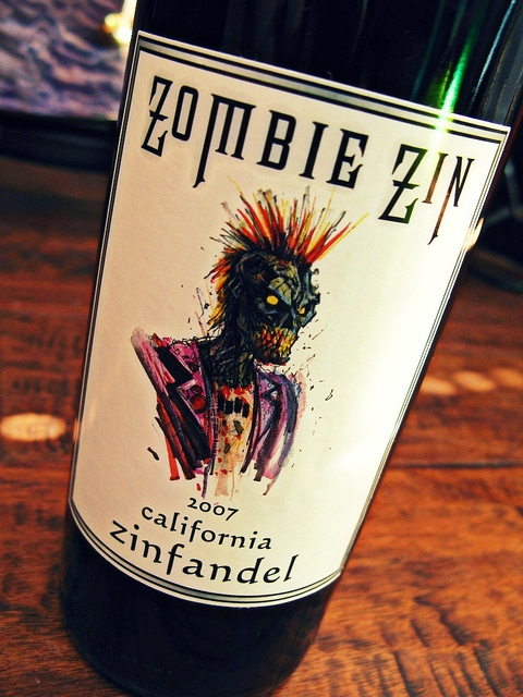 Zombie Zin - Wines for Horror Fans