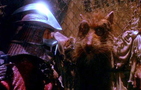 Splinter Crying