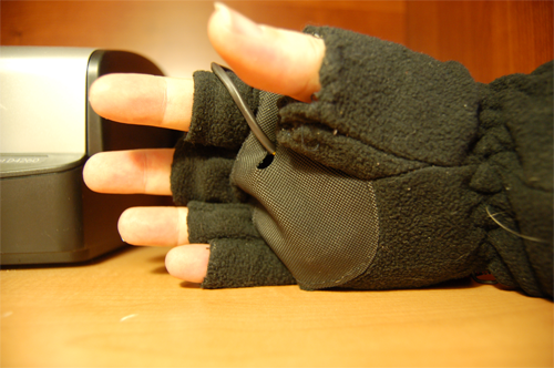 RFID Enabled Glove