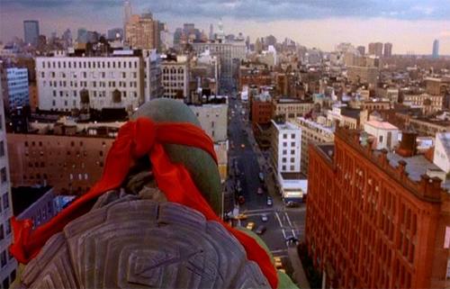 Raphael overlooking NYC.
