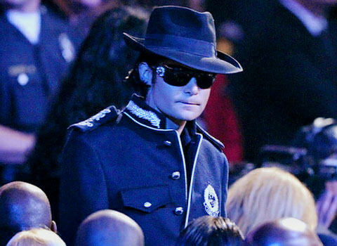 Corey Feldman at Michael Jackson's Funeral
