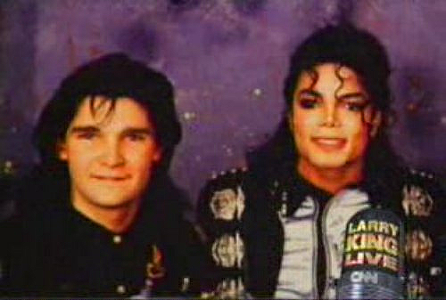 Corey Feldman and Michael Jackson