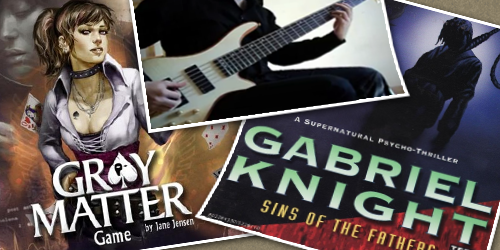 Guitar Cover of 'Gray Matter' & 'Gabriel Knight' Themes