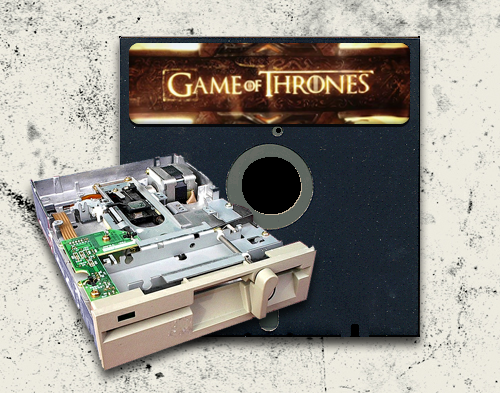Game of Thrones Theme - Floppy Disk Drive