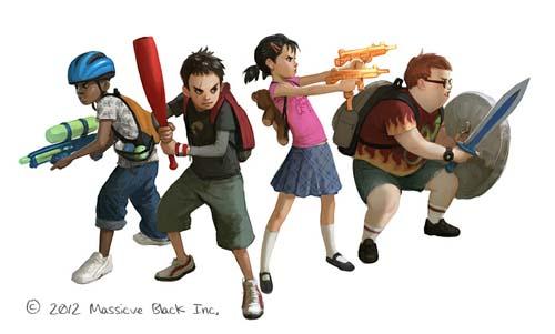 Zombie Playground Kids