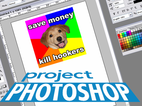 Like Project Runaway for Photoshop