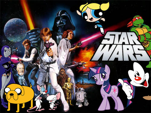 Star Wars Voiced by Cartoon Characters
