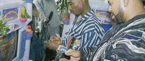 Tupac Plays Sega