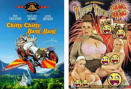 Chitty Chitty Bang Bang - Titty Titty Gang Bang