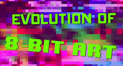 Evolution of 8bit Art
