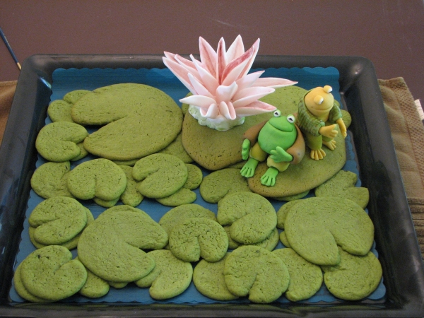 Frog and Toad Cookies