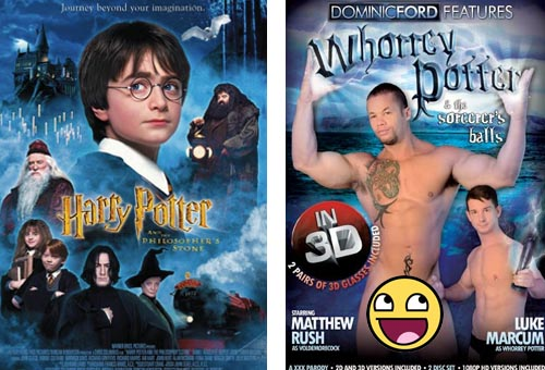 Harry Potter and the Sorcerer's Stone - Whorrey Potter and the Sorcerer's Balls