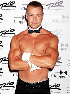 Joey Lawrence Chippendales