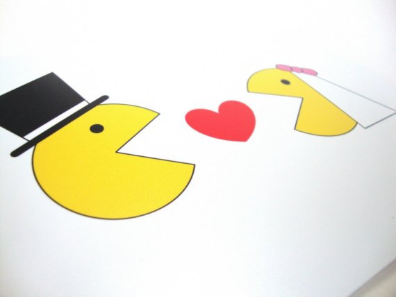Pac-Man Weddings are Popular