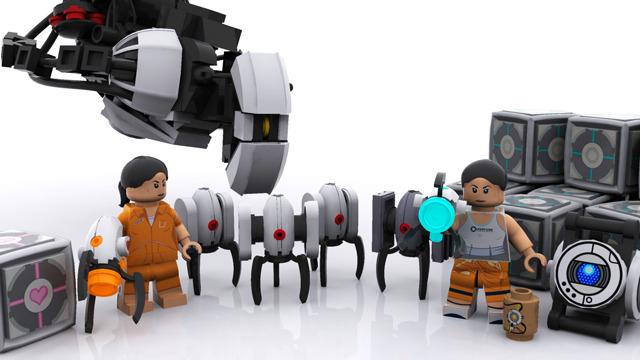 LEGO Portal Pieces