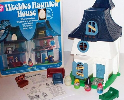 Weebles Haunted House Toy
