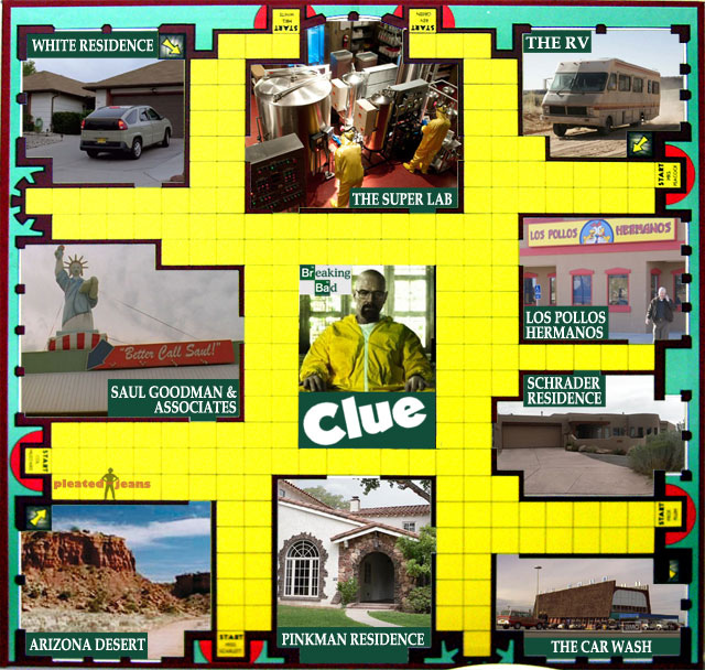 Clue Breaking Bad
