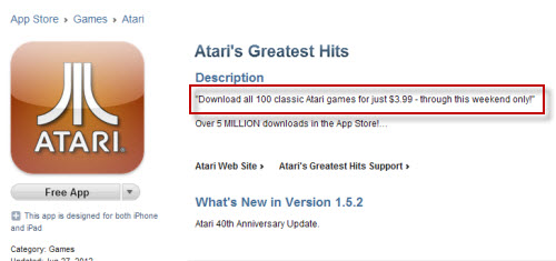 Atari Lies