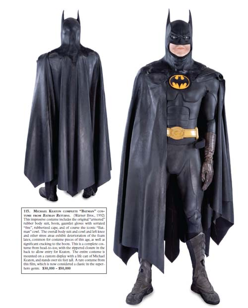 Batman Costume from Batman Returns