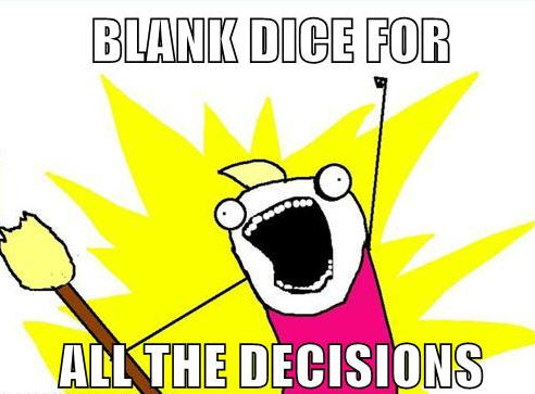 ALL THE DECISIONS!