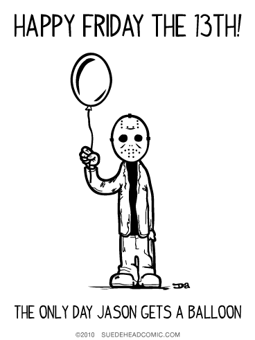 Friday the 13th Balloon