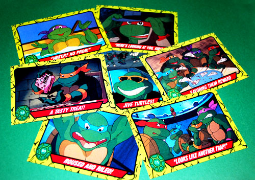 TMNT Cartoon Trading Cards