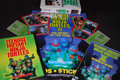 TMNT Movie Stuff