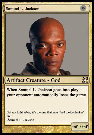 SLJ Magic Card