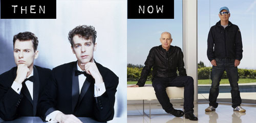 Then & Now: The Pet Shop Boys