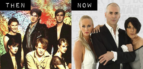 Then & Now: The Human League