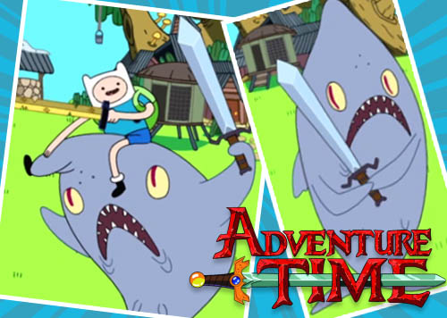 Adventure Time Shark