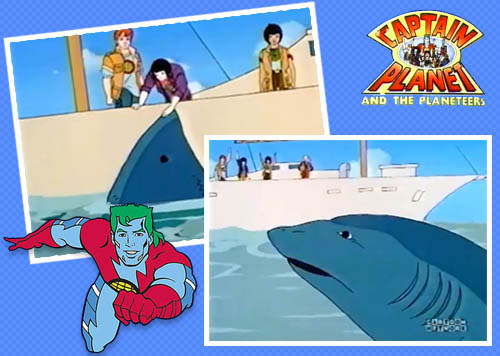 Captain Planet Predator Shark