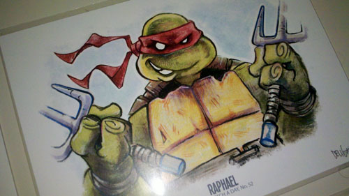 Raphael by Alex Deligiannis