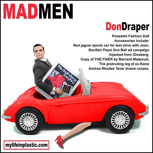Don Draper - Ken Doll