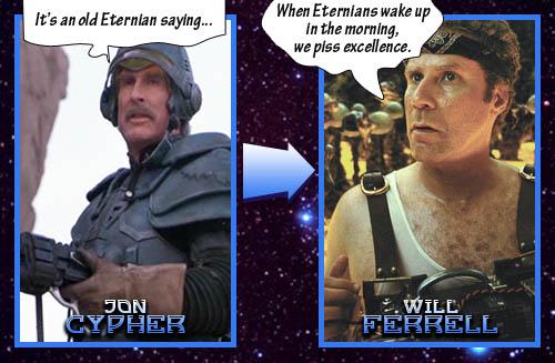 Duncan = Will Ferrell