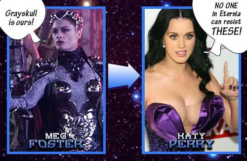 Evil-Lyn = Katy Perry