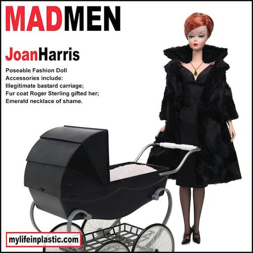 Joan Harris Barbie Doll