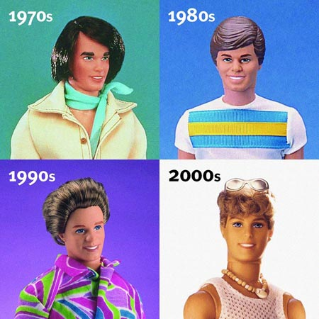 Ken Through the Years