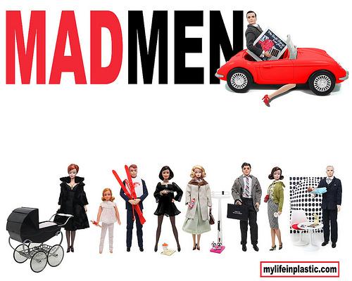 Mad Men Dolls