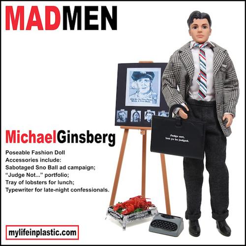 Michael Ginsberg Ken Doll